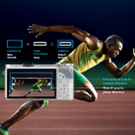 The NX300's Advanced Hybrid Autofocus allows you to quickly focus in on fast-moving objects for better accuracy.