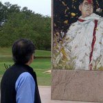 At Rajiv Gandhi Memorial, Sriperumbudur. Beautifully conceived, profoundly moving reminder of what we lost 22yrs ago