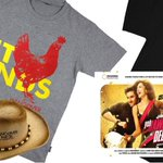 Win YJHD music CDs & T-shirts, also Hangover T-shirts, sombrero hats and 4ft giraffe stuffed-toys: Now Showing