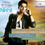 Nikhil's birthday is tomorrow. Here is the creative of @actor_Nikhil latest film