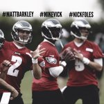 RT @nflnetwork: Which Eagles QB will start most games in 2013: #MattBarkley #MikeVick or #NickFoles?