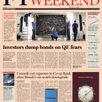 Look at the front page of the Financial Times UK edition - 1 June, 2013