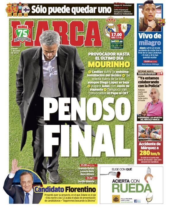 #LaPortada 'Penoso final' http://t.co/eWNHDkACSB