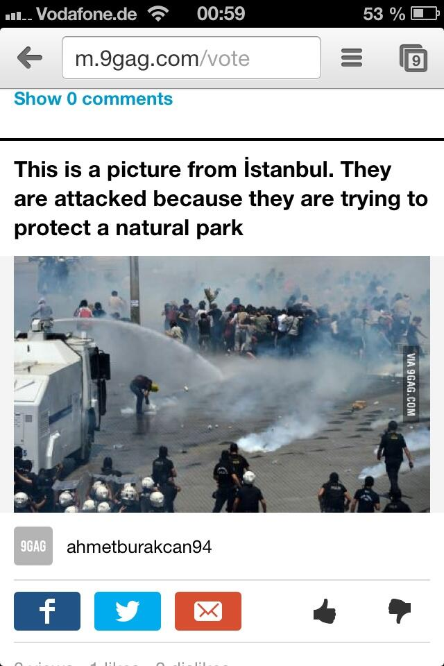 @BBCWorld everybody should know about these terrible Police Action in turkey!!!!  #direngeziparki http://t.co/r3FqTkmZ26