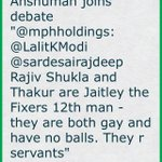 Anshuman joins debate