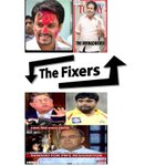 THE FIXERS running now in Media, Villain Srini, Hero -Guru,  Director - Jaitley, Producer -Shukla, Scripter - Thakur