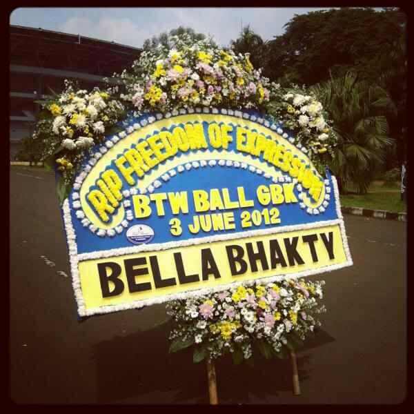 1 year ago. RIP BTWBALL GBK. 3rd June, Tribute to Lady Gaga, Tribute to Expression & Freedom to Speech http://t.co/PJSLd7H2aD