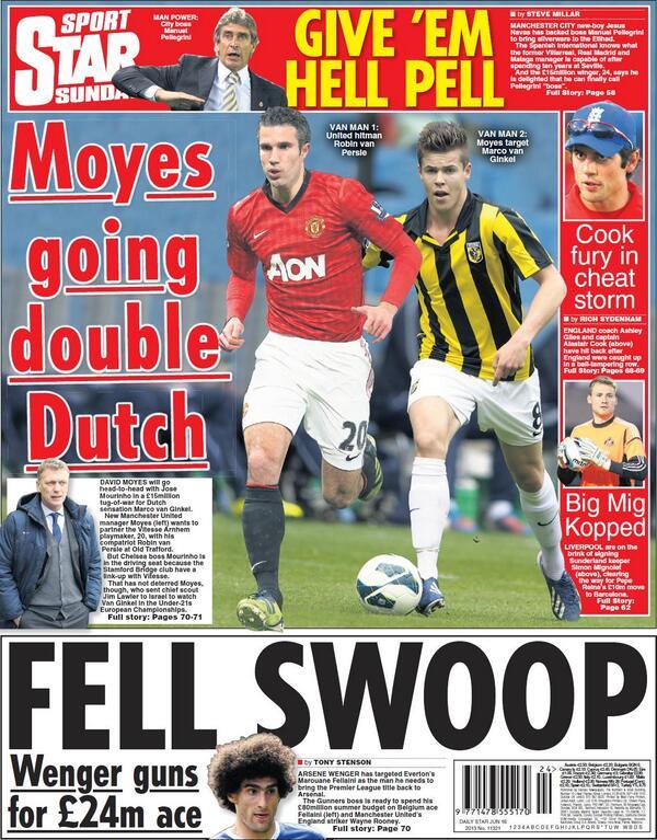 BM0ulAgCUAAIEVw Forget Strootman! Man United to challenge Chelsea for Marco van Ginkel [Star & Express]