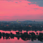 RT @capitalweather: What a sunrise in DC, http://t.co/yNHt4Yug0c hat tip: @tomkierein