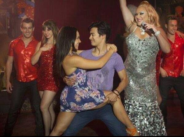 Dance Academy season 3 pic!  Abigail and Christian... Hmmm @DenaAmyKaplan @jordansblah09 http://t.co/YXXX4r2Ycj