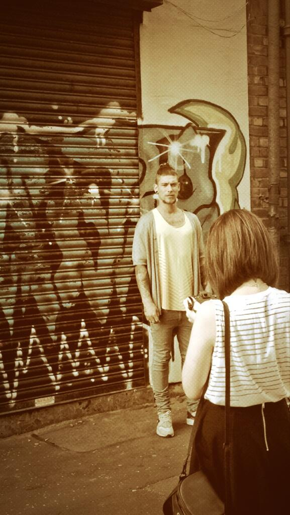 Behind the scenes on the new Claire house magazine shoot. @ClaireHouse @OPEN_MAGAZINE  #baltictriangle http://t.co/dyde8I831a