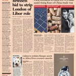 Front page of the Financial Times US  - 6, June 2013