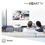 Upgrade your living room or your bedroom with a #SamsungSmartTV. Watch home videos, listen to music and more!