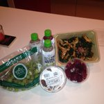 @ochocinco This is how u do it homie! #Kalesalad #Beets #SeedlessGrapes #Bakedsweetpotato #RawCoconutWater TOfitness http://t.co/B8yYJgtASK