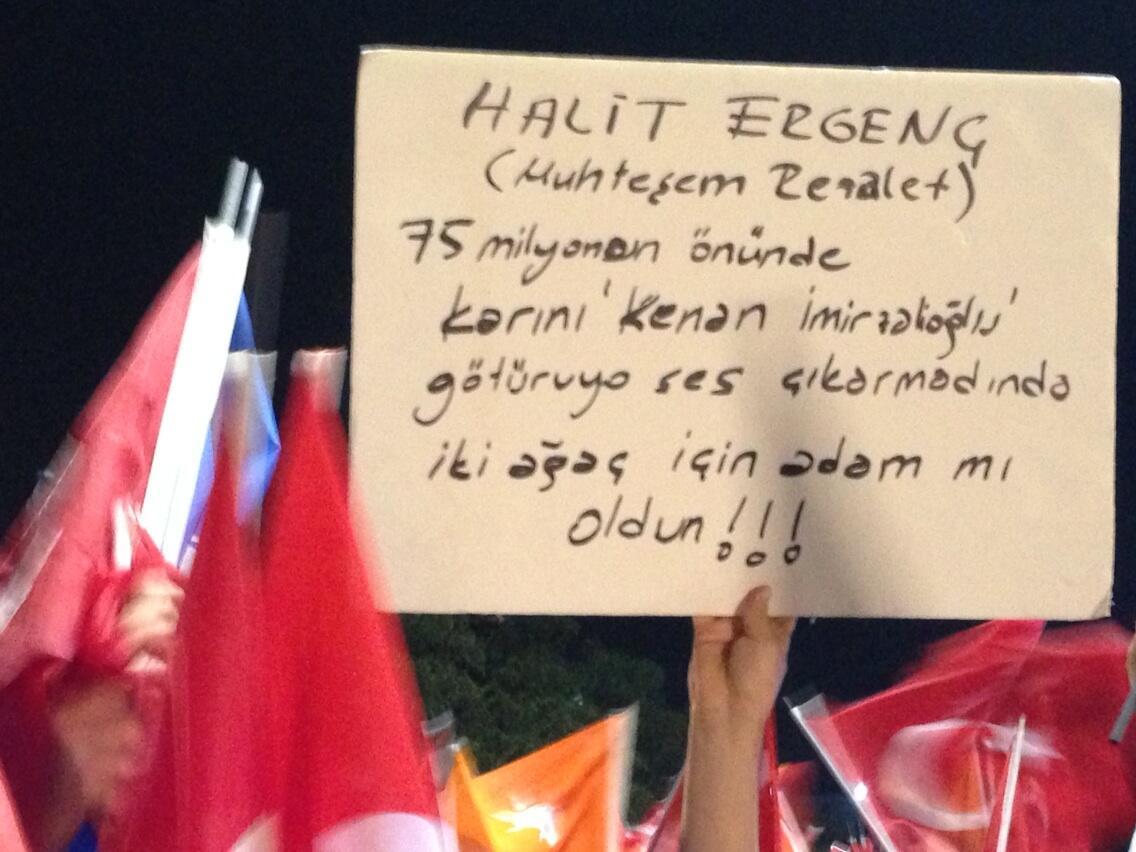 AKP'lilerin başbakan karşılama töreninden .. http://t.co/TkR6nTlVbg