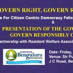 Be there to show your support #BangaloreVotes