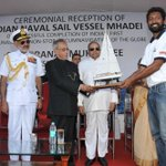RT @timesnow: Lt Cdr Abhilash Tomy is the 1st Indian to sail around the globe in 150 days, w/o stopping at any port