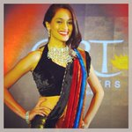 Show-stopper and Ramp walk #throwback #femina #colors #jewelry #sari http://t.co/IzDKyCHPgw