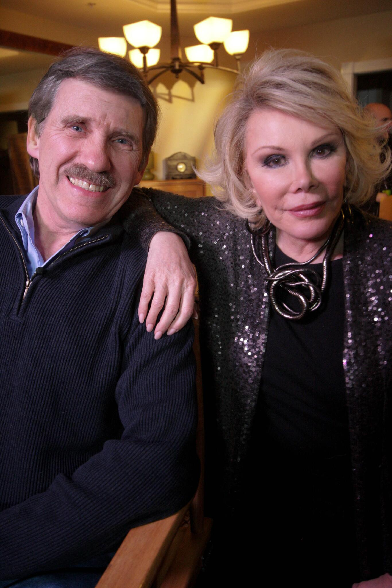Happy Birthday to Joan Rivers. She skewers pomposity with a sharp comic blade. Get closer, and you'll know her heart. http://t.co/dwVghv0sOQ