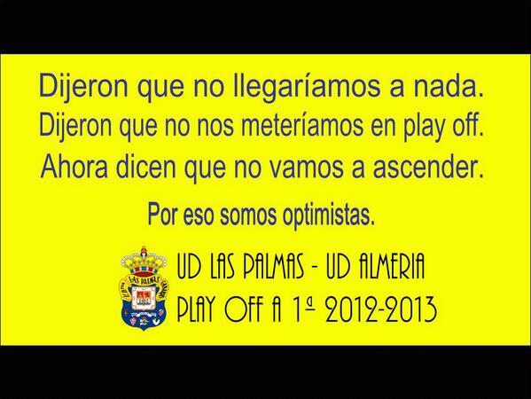 Ilusiónate desde este momento. Porque somos optimistas, ¡#SoñamosJuntos por un #PlayOffAmarillo! http://t.co/XWbbR1n7tE