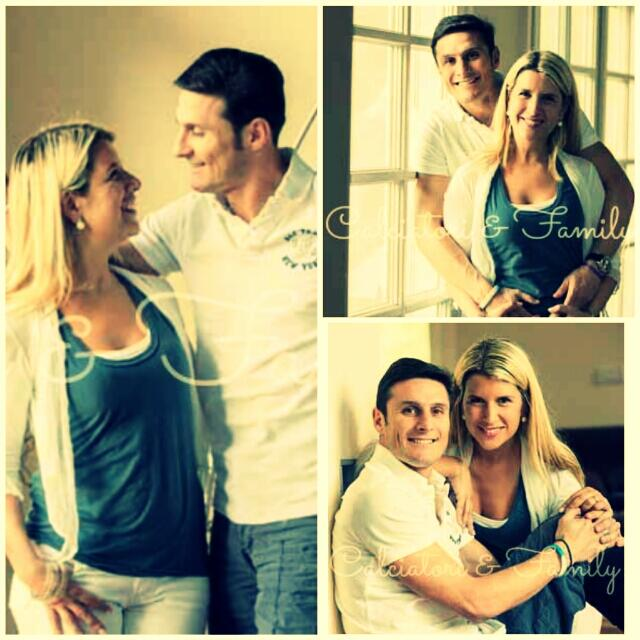 Zanetti_ID : Javier Zanetti and wife, Paula :)) http://t.co ...