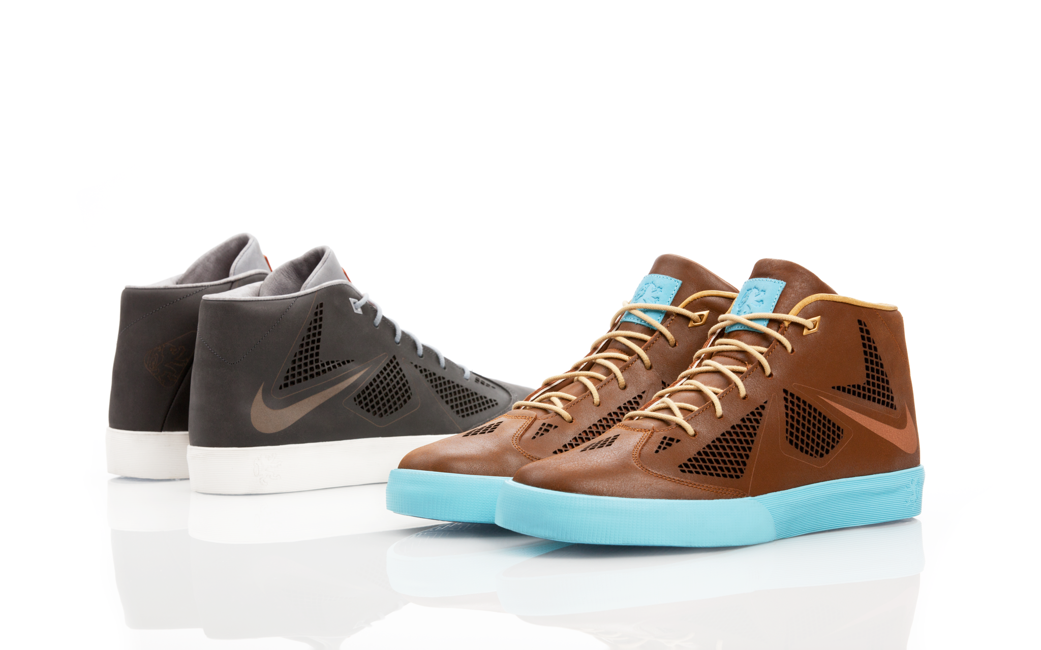 The Nike LeBron X NSW Lifestyle. Available in two colorways on 6.15: http://t.co/Y3A1hMAgD7