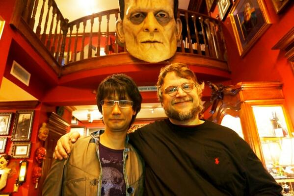 """I went to visit my friend Guillermo Del Toro. it's been few years since I visited last time.  http://t.co/wEL51PItRf"""""""