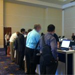 Registration in full swing on Day 1 of #GartnerSEC in National Harbor, MD