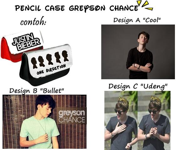 PO s/d 23 Juni. Pencil Case Greyson Chance IDR; 40rb | SMS: 081317204033 Bantu RT ya :) http://t.co/LFLEGWunlM