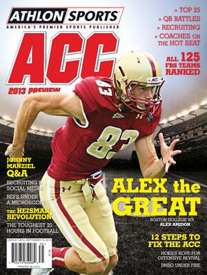 Alex Amidon '10 of @BostonColFB is featured on the cover of @AthlonSports 2013 ACC Preview! #GoBlue http://t.co/bo7pexk1Nt