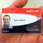 """@WillBasil: ""@ChickenAnthony: Officially a Bearcat! http://t.co/W5b2uZylVu"" heck yes! #hottestcollegeinamerica @PrezOno"" Congrats!"