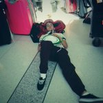 RT @luke_brooks: Really? The airport check-in floor? http://t.co/XnIpArQvzo