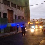 RT @Fontesruben: La @PoliciaLPA actuando en un incidente en la central eléctrica de Guanarteme. http://t.co/A7u4YWl3Ft