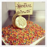 Also, thanks to @emmgroupnyc for hosting our post show shindig. And for @thegeneralnyc for the giant doughnut cake.