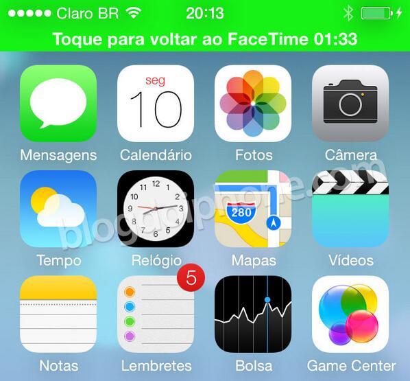 [iOS7] Ahhh! Meus olhos!!!: http://t.co/2VEtttTDJ9