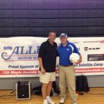 Thanks to Billy Jack Hazlett & Bob Allen for helping us put on today's Satellite Camp at Boyle County High School.