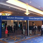 Busy Solution Showcase at #GartnerSEC today! Don't miss tonight's reception at 6:15pm in Prince George's Hall C-D