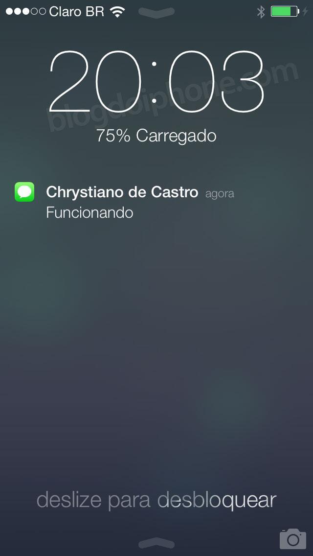 [iOS7] Tela bloqueada: http://t.co/uMQuTkWbDY