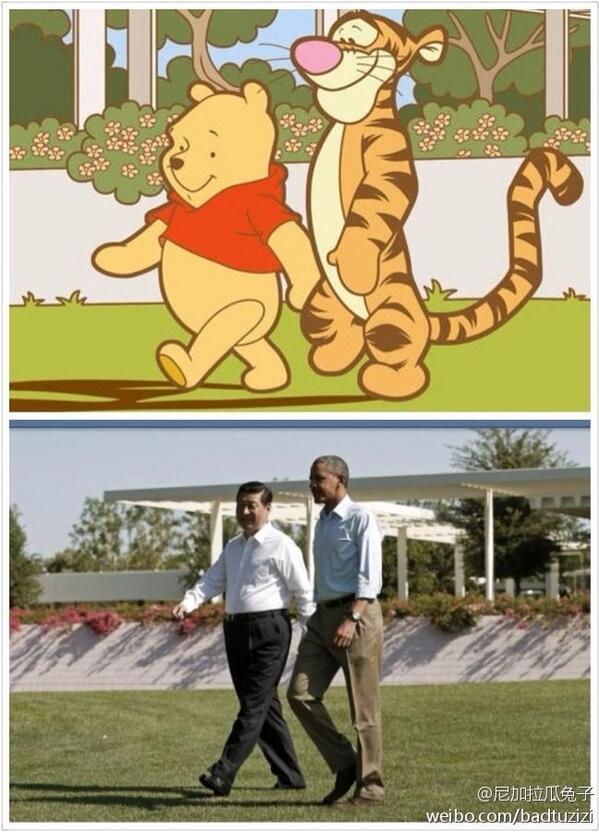 哈哈哈太好玩了 RT @MissXQ @comradewong The most popular photo on Weibo in the past 24 hours. http://t.co/CJGgJBvYz1