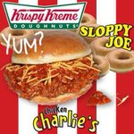 Ewww! RT Krispy Kreme Blows Our Minds & Introduces A Sloppy Joe Sandwich! http://t.co/x2goRMYsY9