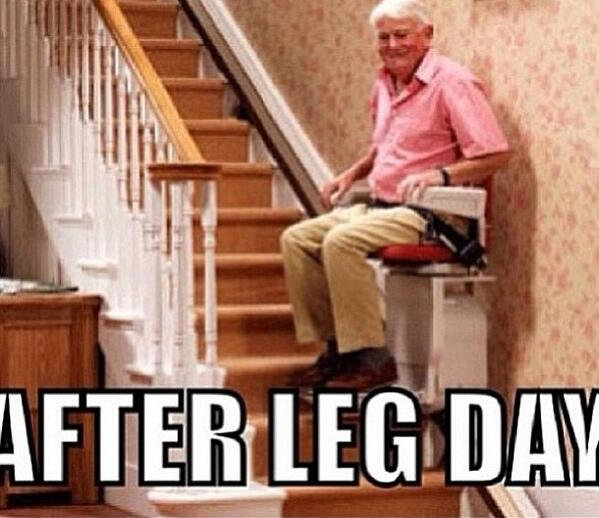 That feeling after leg day - scoopnest.com