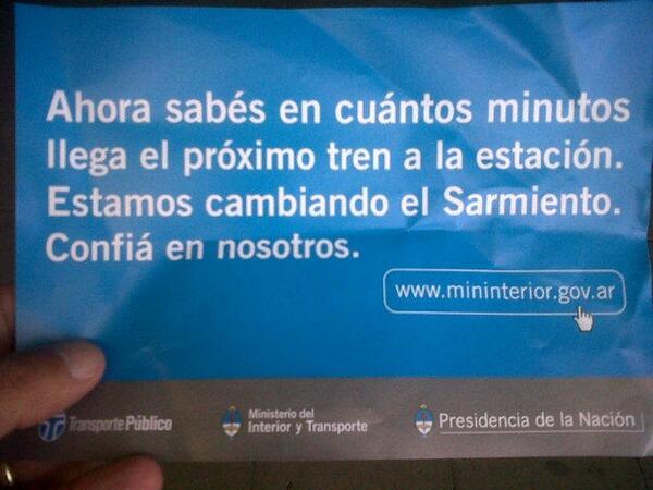 RT @marcos_z: En enero se repartían estos folletos en el Sarmiento. http://t.co/zGb69Sbl20