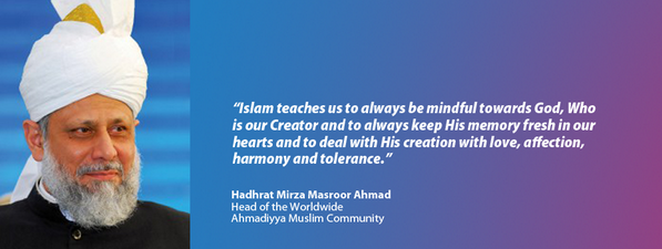 "Love for All Hatred for None ""Islam teaches us to always mindful towards God.  http://t.co/hzfMPqtlnb Islam Ahmadiyya"