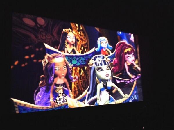 Primera imagen de Monster High 13 Deseos.Gracias por la imagen a @mh_garradeplata http://t.co/o3H6aLtFiU