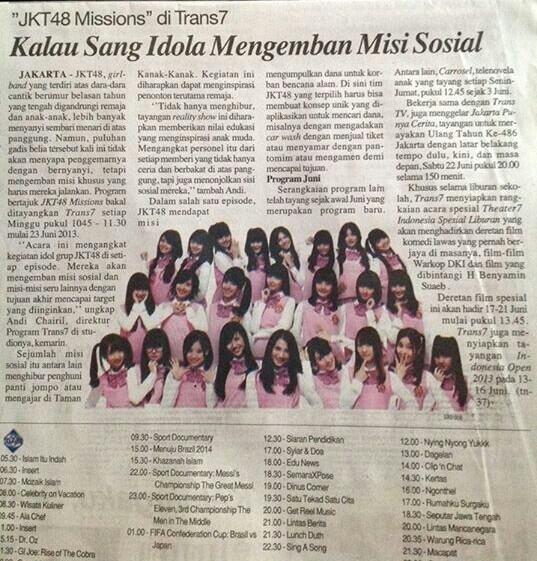 Harian Surat Kabar Suara Merdeka Terbit Sabtu, 15 Juni 2013 Halaman 20 http://t.co/jtEq4it79t