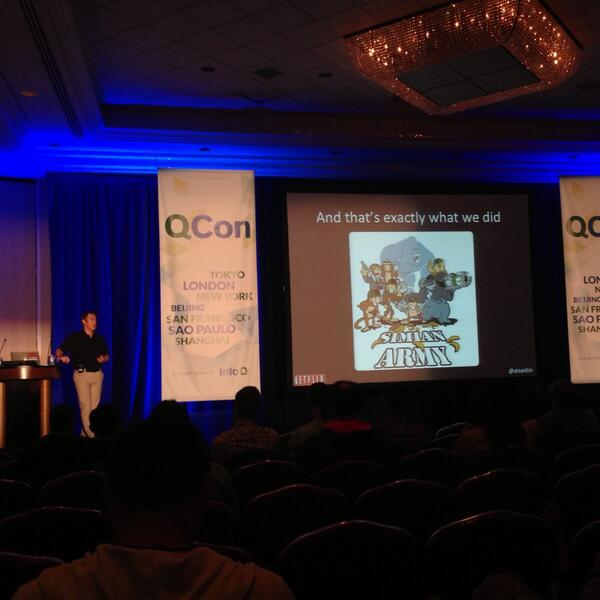 Love this photo from QCon New York 2013 #qconnewyork @qconnewyork [pic] --