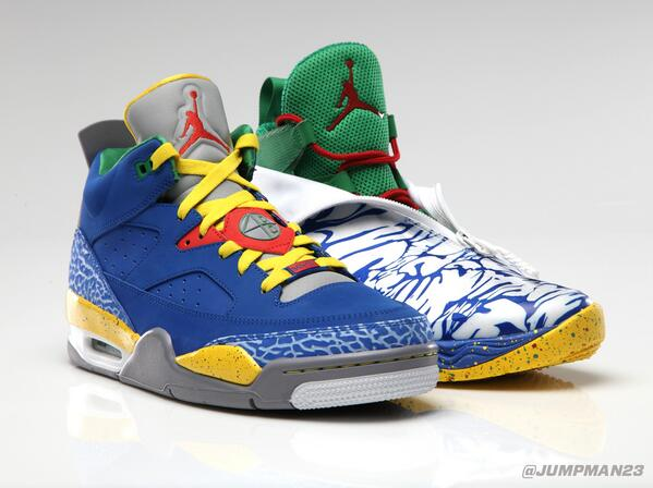 Both inspired by a classic @SpikeLee film, these Son of Low and AJ XX8 colorways hit the scene tomorrow: http://t.co/gCNs4Cn5Vu
