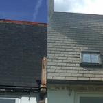 #velux roof window fitted on a slate roof by http://t.co/vpSSppcTVe b4 & after pic #doncasterisgreat #DnisGr8 http://t.co/oPizTmmpE2