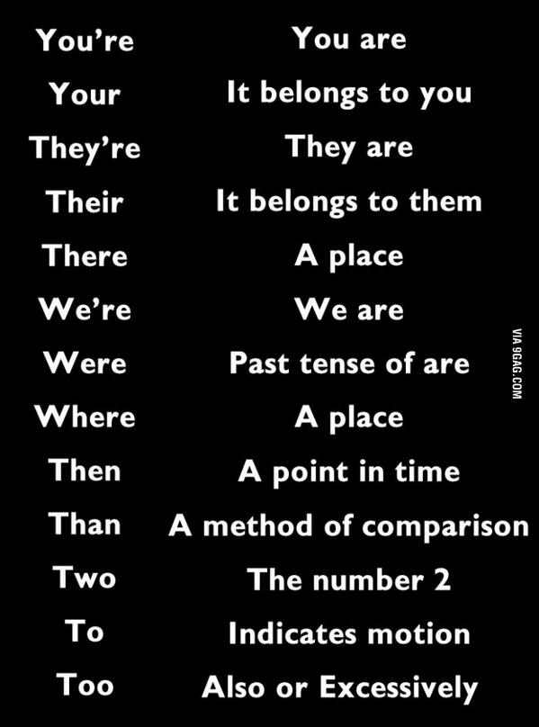 For everyone out there who does not know the difference. http://t.co/hIOV4gw653