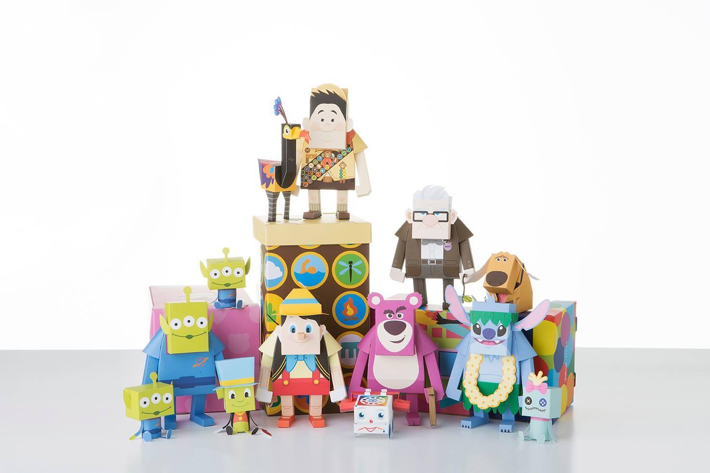 모모트의 두번째 디즈니 시리즈!  Alien/Lotso/Russell/Carl/Stitch/Pinocchio 상상마당에서 만날수 있습니다~ 두둥두둥 // ^0^ http://t.co/7yikefSn64